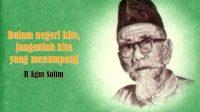 Agus Salim Tokoh Pergerakan Nasional