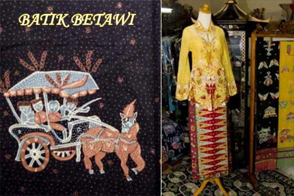 batik betawi klasik
