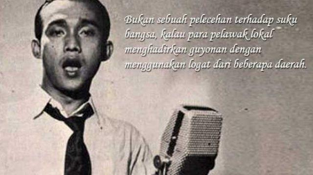 Bing Slamet, Maestro Lawak Indonesia