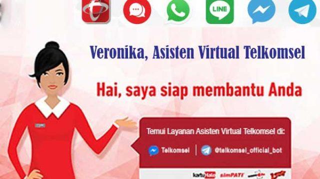 Chatbot Veronika Asisten Virtual Telkomsel