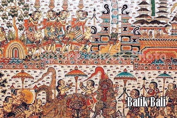 Batik Bali di Tengah Industri Pertenunan
