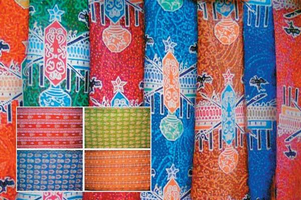 Batik Benang Bintik Palangkaraya